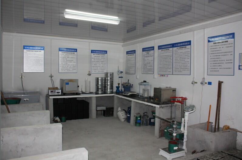 鼎强纤维合作企业试验室